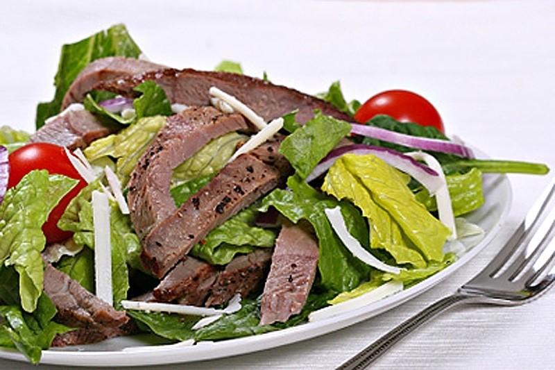 Салат по-восточному с говядиной рецепт